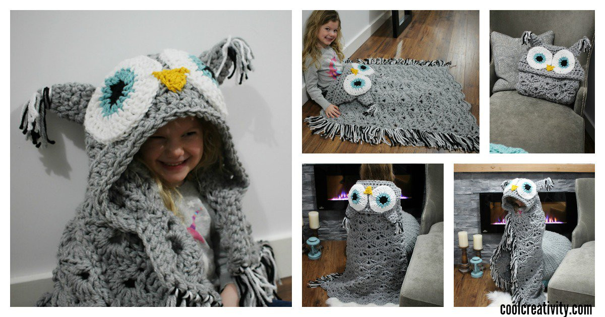 Hooded Owl Blanket Best Of Crochet Hooded Owl Blanket Patterns Of New 47 Images Hooded Owl Blanket
