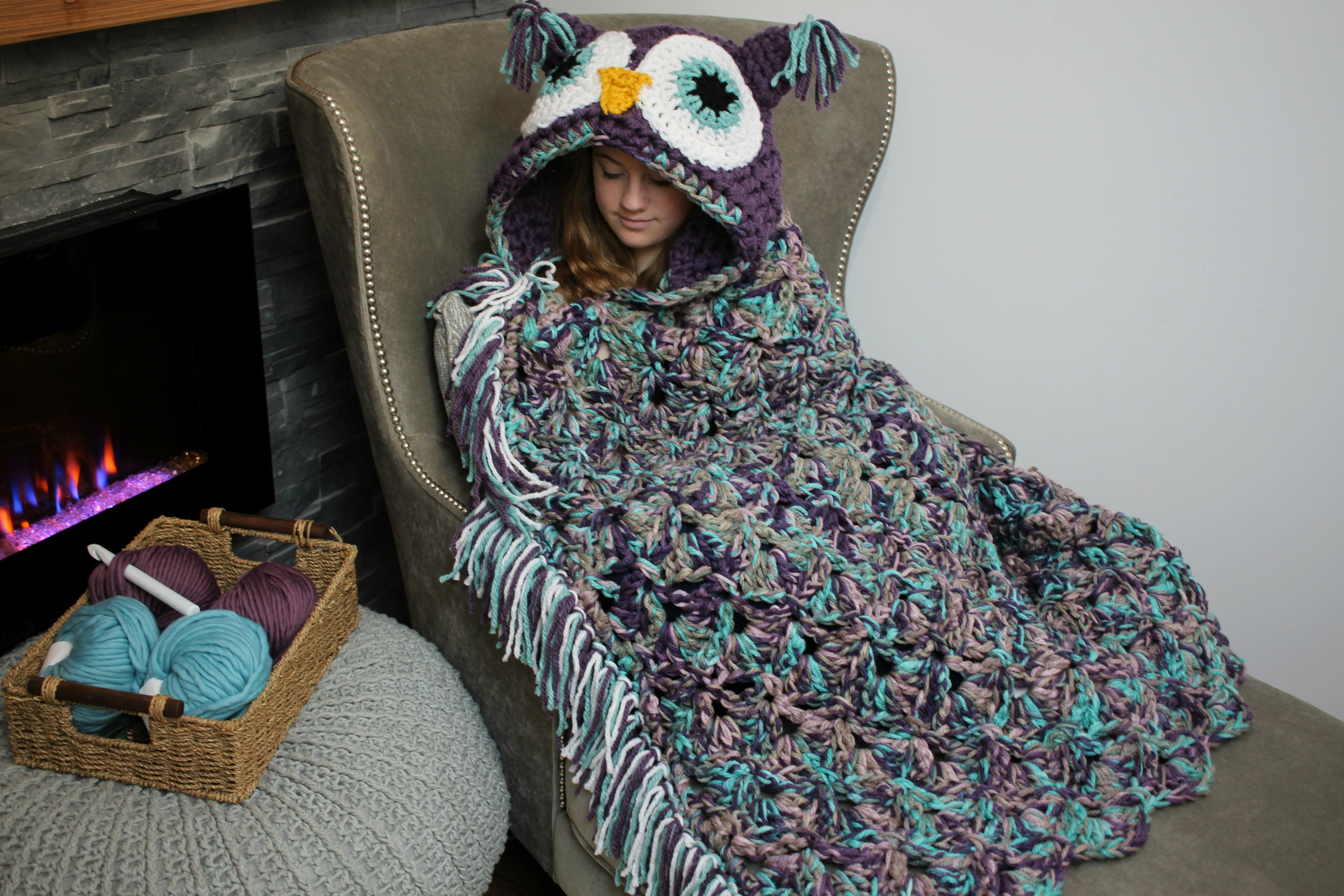 Hooded Owl Blanket Elegant Viral Hooded Owl Blanket Mj S Off the Hook Designs Of New 47 Images Hooded Owl Blanket