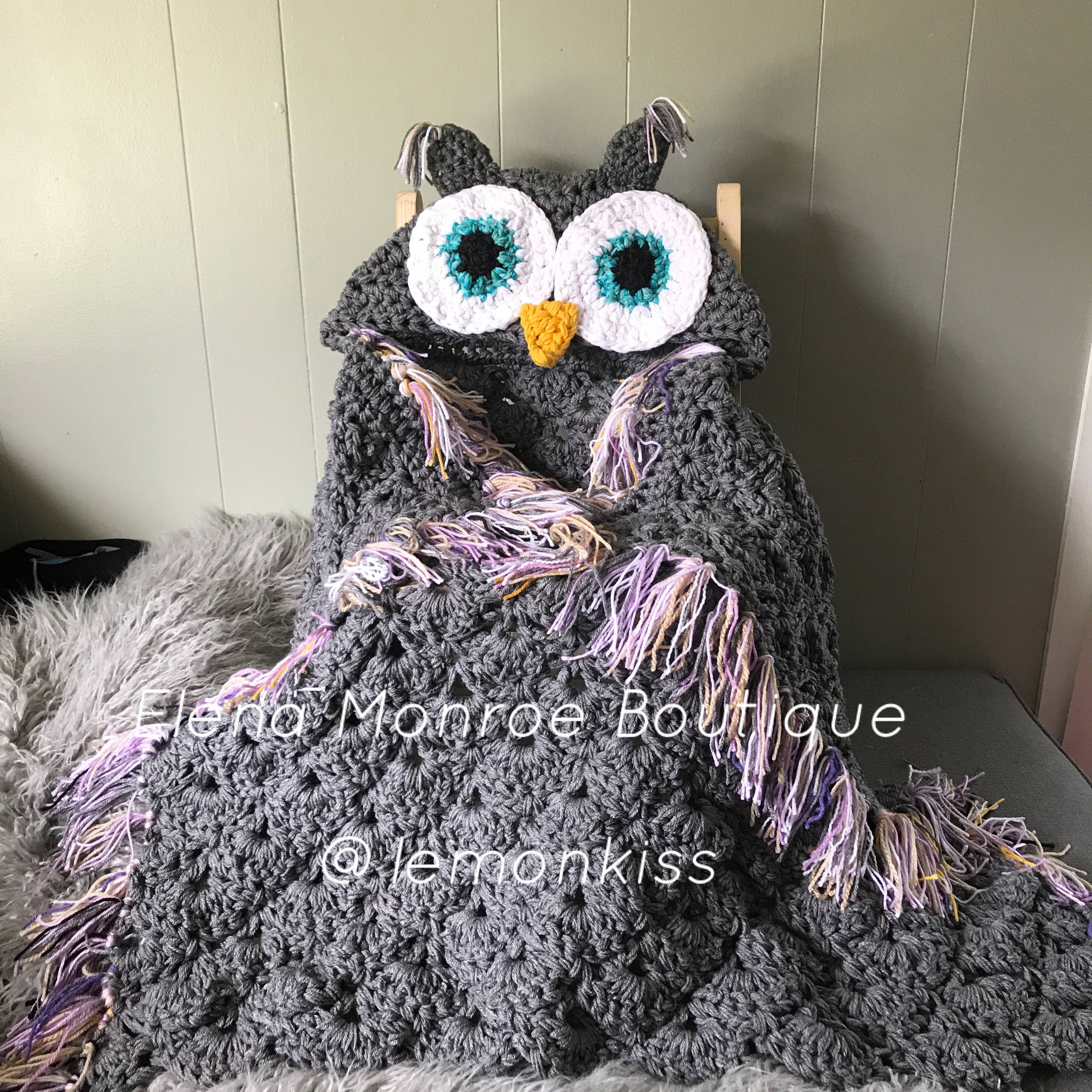 Hooded Owl Blanket Luxury Sale Hooded Owl Blanket Crochet Owl Blanket Owl Blanket Of New 47 Images Hooded Owl Blanket