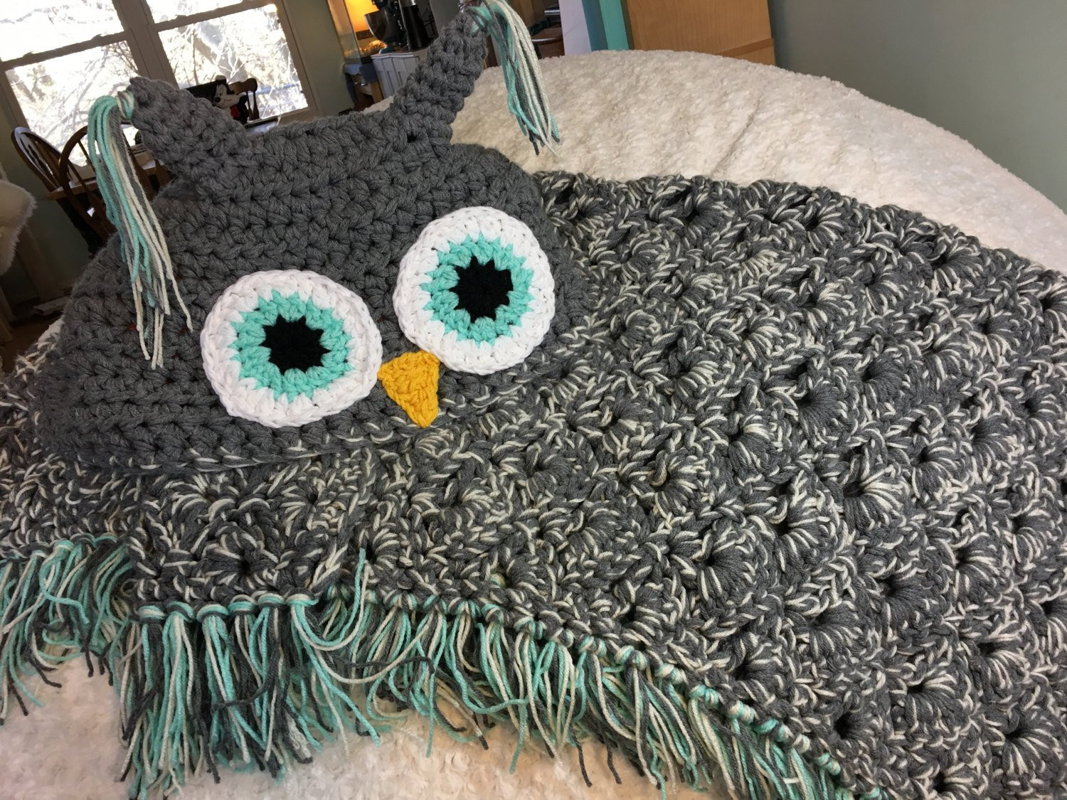 Hooded Owl Blanket Unique Hooded Owl Blanket Adult Teen Of New 47 Images Hooded Owl Blanket