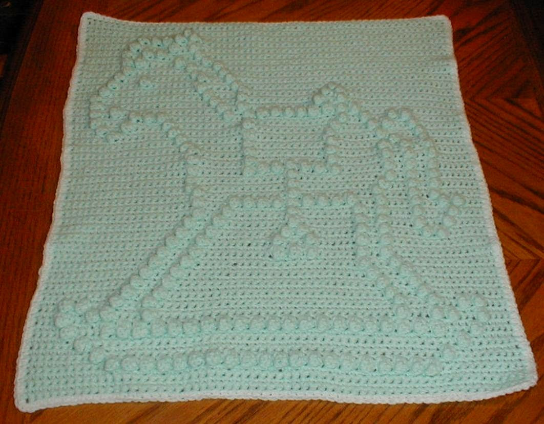 Horse Baby Blanket Beautiful Karens Crocheted Garden Of Colors Rocking Horse Preemie Of Unique 48 Ideas Horse Baby Blanket