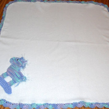 Horse Baby Blanket Elegant Crochet Rocking Horse Baby Blanket – Ly New Crochet Patterns Of Unique 48 Ideas Horse Baby Blanket