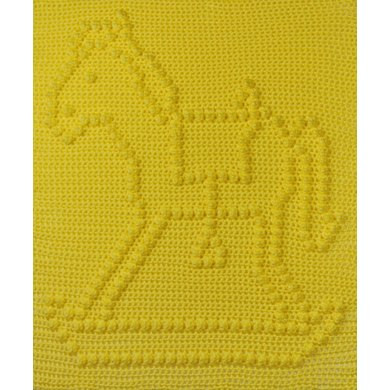 Horse Baby Blanket Inspirational Rocking Horse Baby Blanket Crochet Pattern by the Baby Of Unique 48 Ideas Horse Baby Blanket