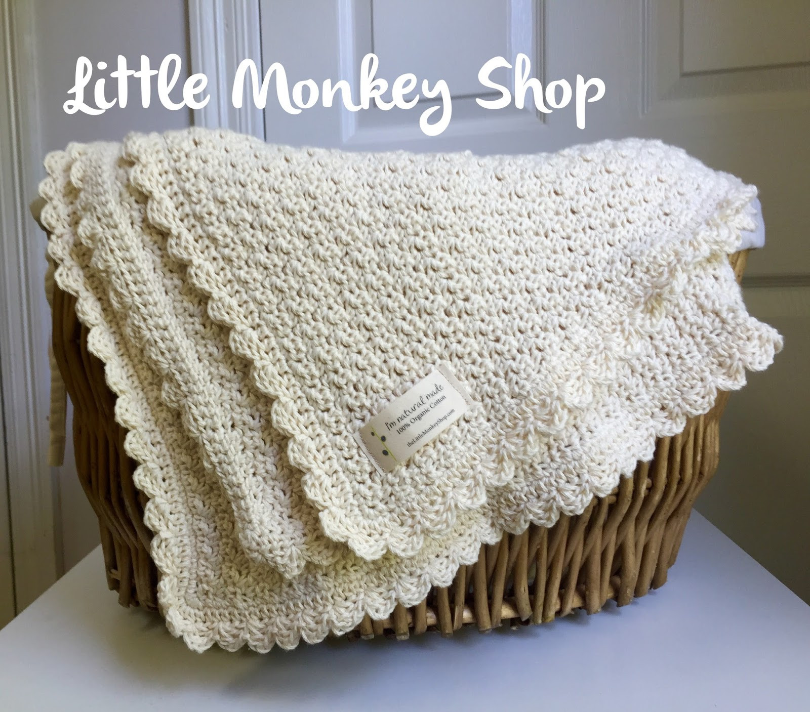 I Love This Cotton Yarn Crochet Patterns New Little Monkey Shop Pure and Simple Baby Blanket A Of Delightful 43 Ideas I Love This Cotton Yarn Crochet Patterns