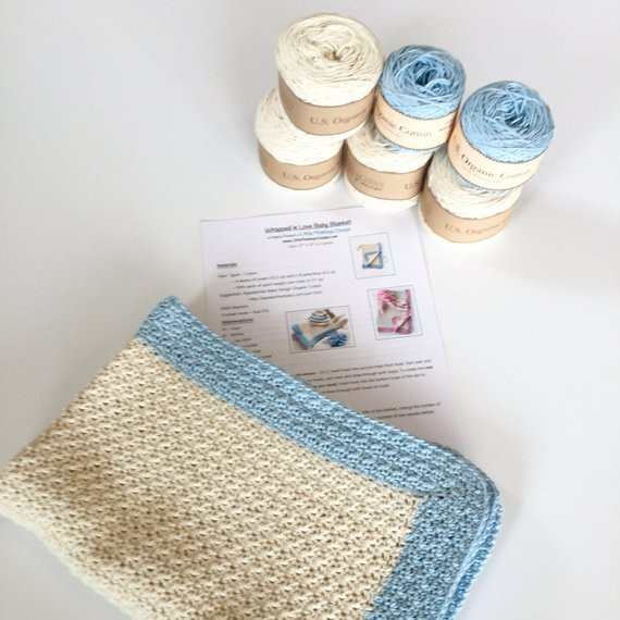 I Love This Cotton Yarn Crochet Patterns Unique Baby Blanket Crochet Kit Pattern and organic Cotton Yarn Of Delightful 43 Ideas I Love This Cotton Yarn Crochet Patterns