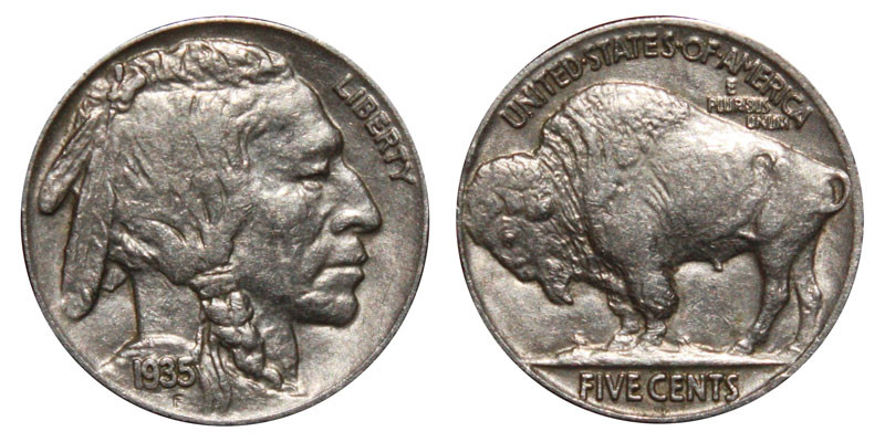 Indian Head Buffalo Nickel Best Of 1935 Buffalo Nickels Indian Head Nickel Line Type Value Of Gorgeous 50 Ideas Indian Head Buffalo Nickel