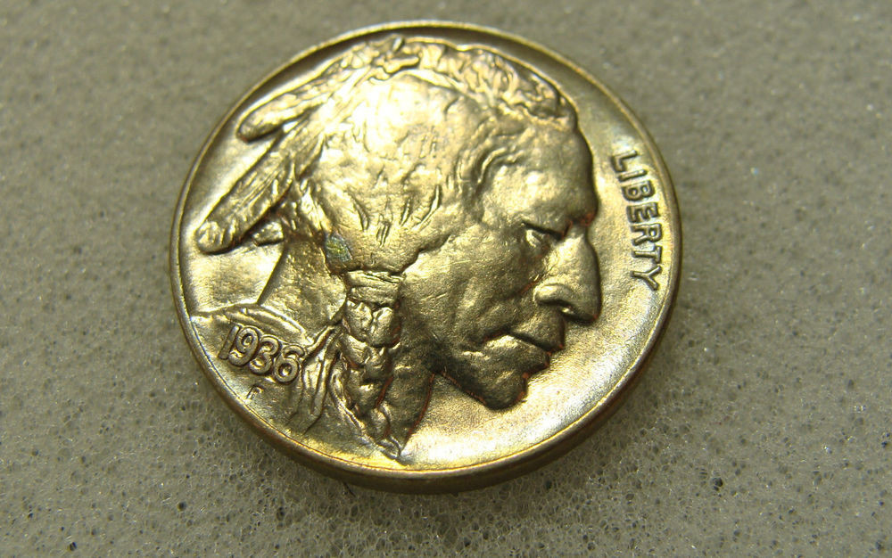 Indian Head Buffalo Nickel Fresh 1936 5c Buffalo Nickel Indian Head Nickel toned Unc Of Gorgeous 50 Ideas Indian Head Buffalo Nickel