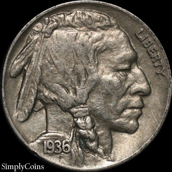Indian Head Buffalo Nickel New 1936 Indian Head Buffalo Nickel Xf Extremely Fine Us Of Gorgeous 50 Ideas Indian Head Buffalo Nickel
