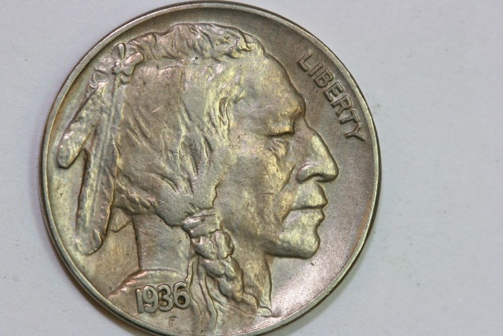 Indian Head Buffalo Nickel New Very Cool toned Variety 2 1936 P Indian Head Buffalo Of Gorgeous 50 Ideas Indian Head Buffalo Nickel