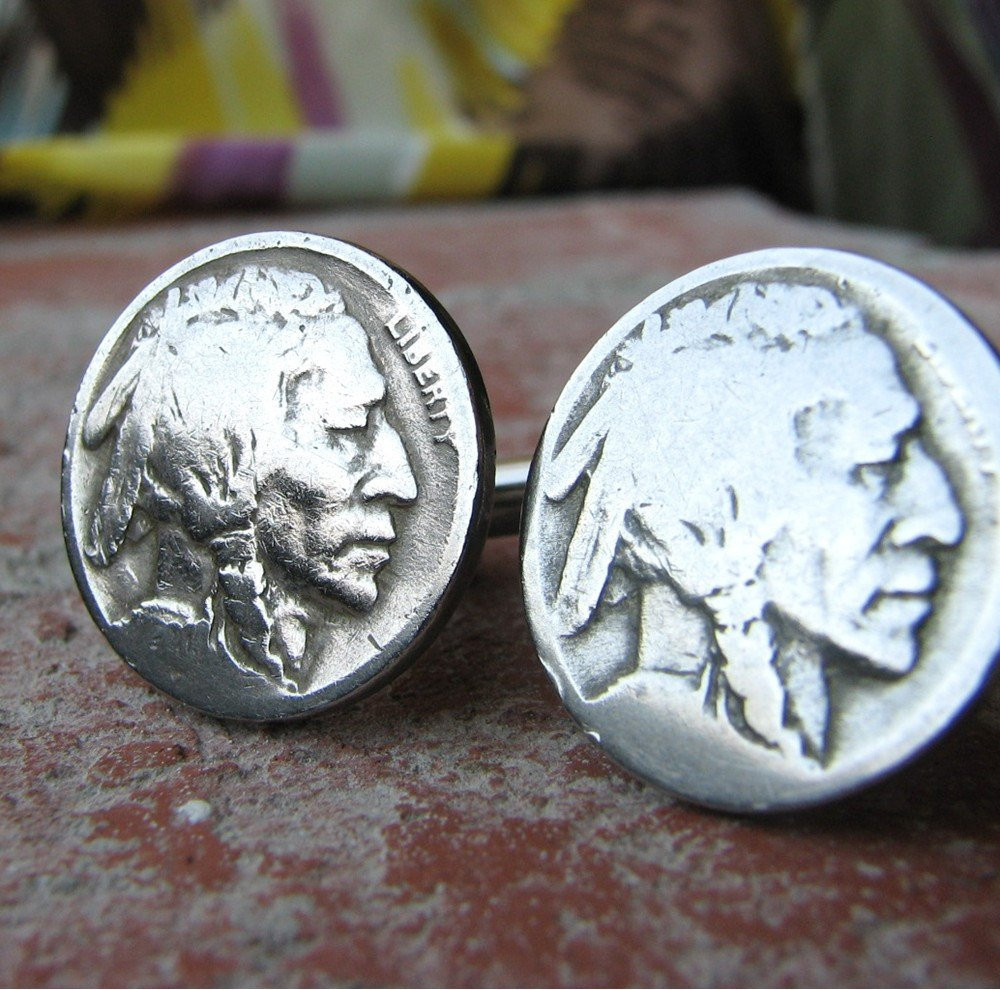 Indian Head Nickel Beautiful Indian Head Nickel Cufflinks Buffalo Nickel Cuff Links Mens Of Gorgeous 49 Photos Indian Head Nickel