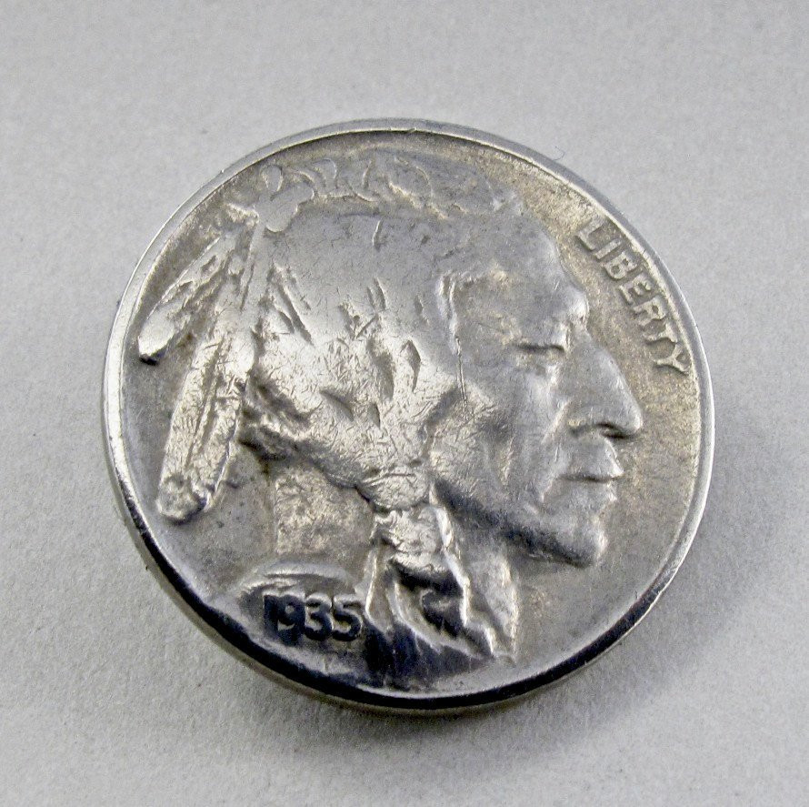 Indian Head Nickel Fresh 1935 Brooch Usa Indian Head Buffalo Nickel Pin by Partsforyou Of Gorgeous 49 Photos Indian Head Nickel