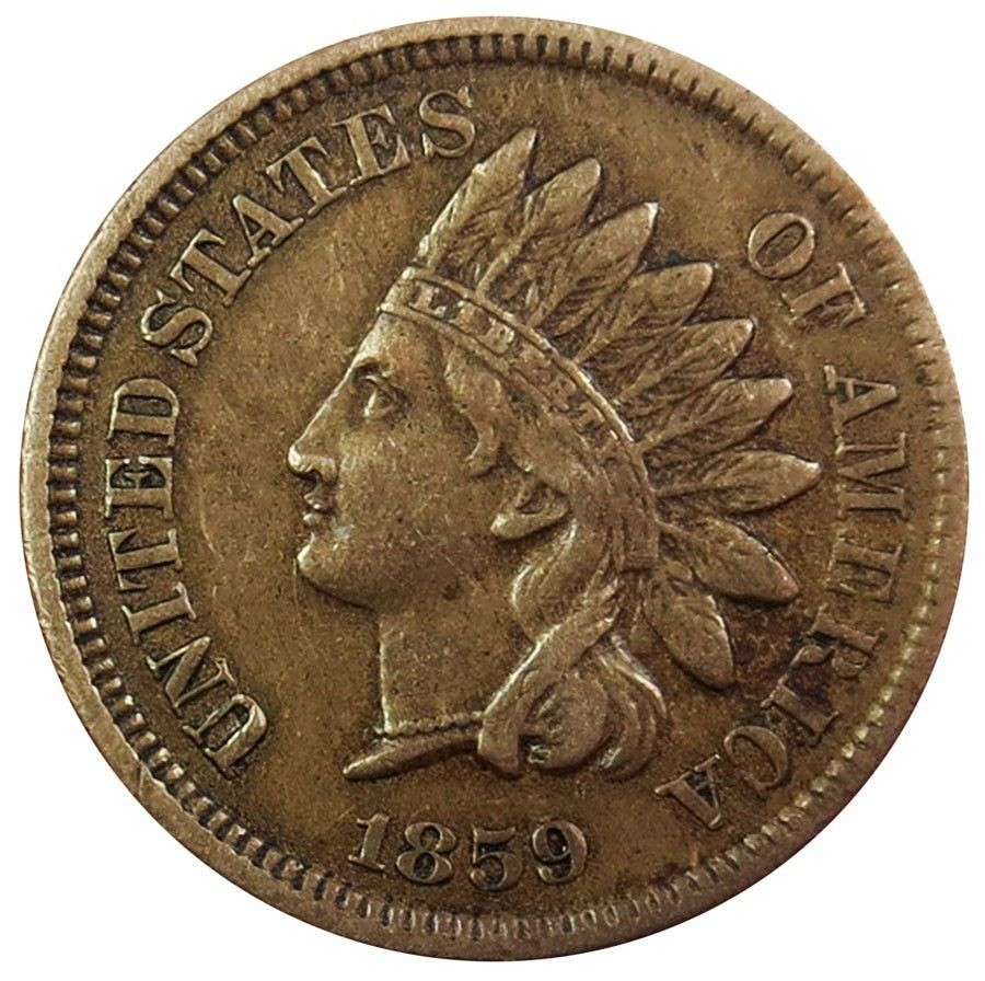 Indian Head Penny Beautiful 1859 United States Indian Head Cent Coin Extremely Fine Of Top 41 Ideas Indian Head Penny