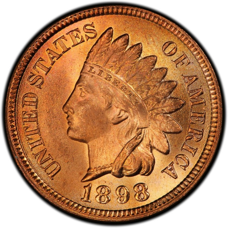 Indian Head Penny Elegant 1898 Indian Head Pennies Values and Prices Past Sales Of Top 41 Ideas Indian Head Penny