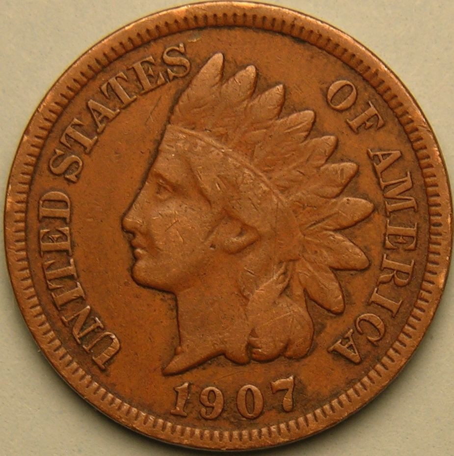 Indian Head Penny Unique 1907 Indian Head Cent Liberty Shows Ae 225 Of Top 41 Ideas Indian Head Penny