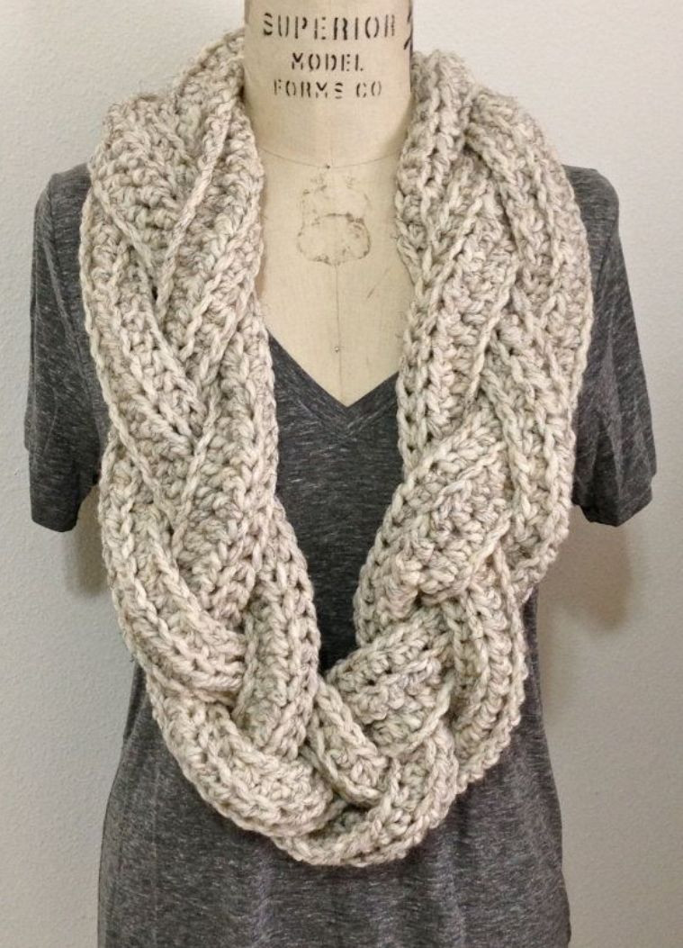 Infinity Scarf Crochet Fresh Crochet Infinity Scarves – Simple Versatile and Great for Of Innovative 44 Images Infinity Scarf Crochet