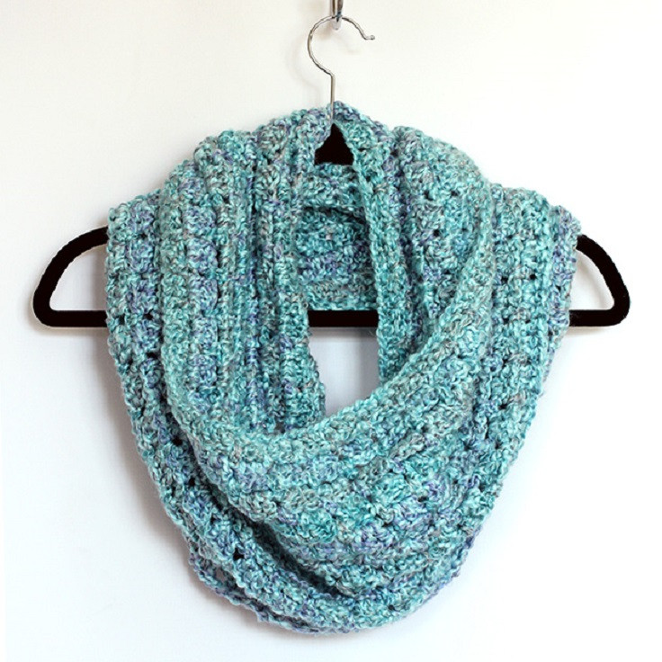 Infinity Scarf Crochet Luxury top 10 Beautiful Free Crochet Scarf Patterns top Inspired Of Innovative 44 Images Infinity Scarf Crochet