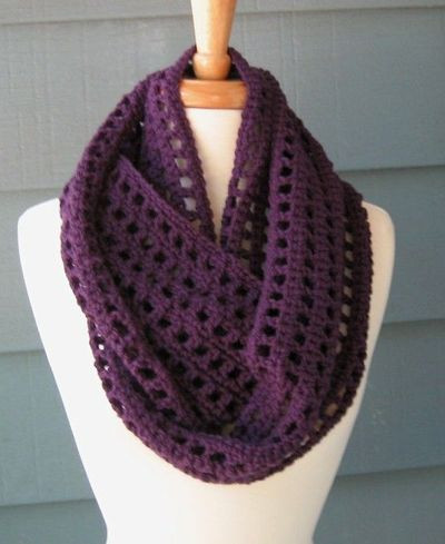 infinity scarf patterns to crochet