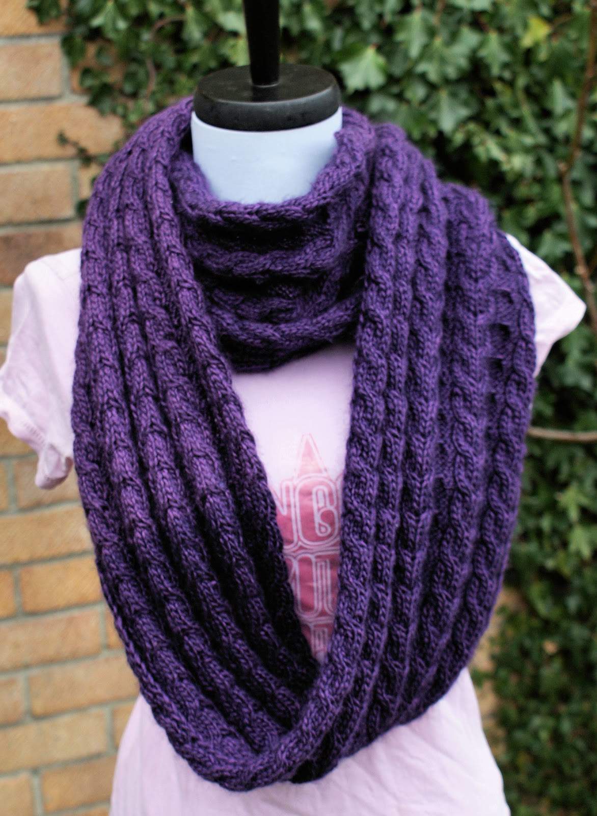 Infinity Scarf Knitting Pattern Fresh Confessions Of A Yarnaddict Shelterbox Infinity Scarf Of New 43 Images Infinity Scarf Knitting Pattern