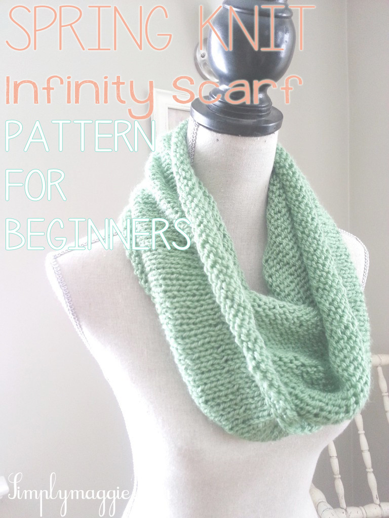 Infinity Scarf Knitting Pattern Luxury Spring Knit Infinity Scarf Of New 43 Images Infinity Scarf Knitting Pattern