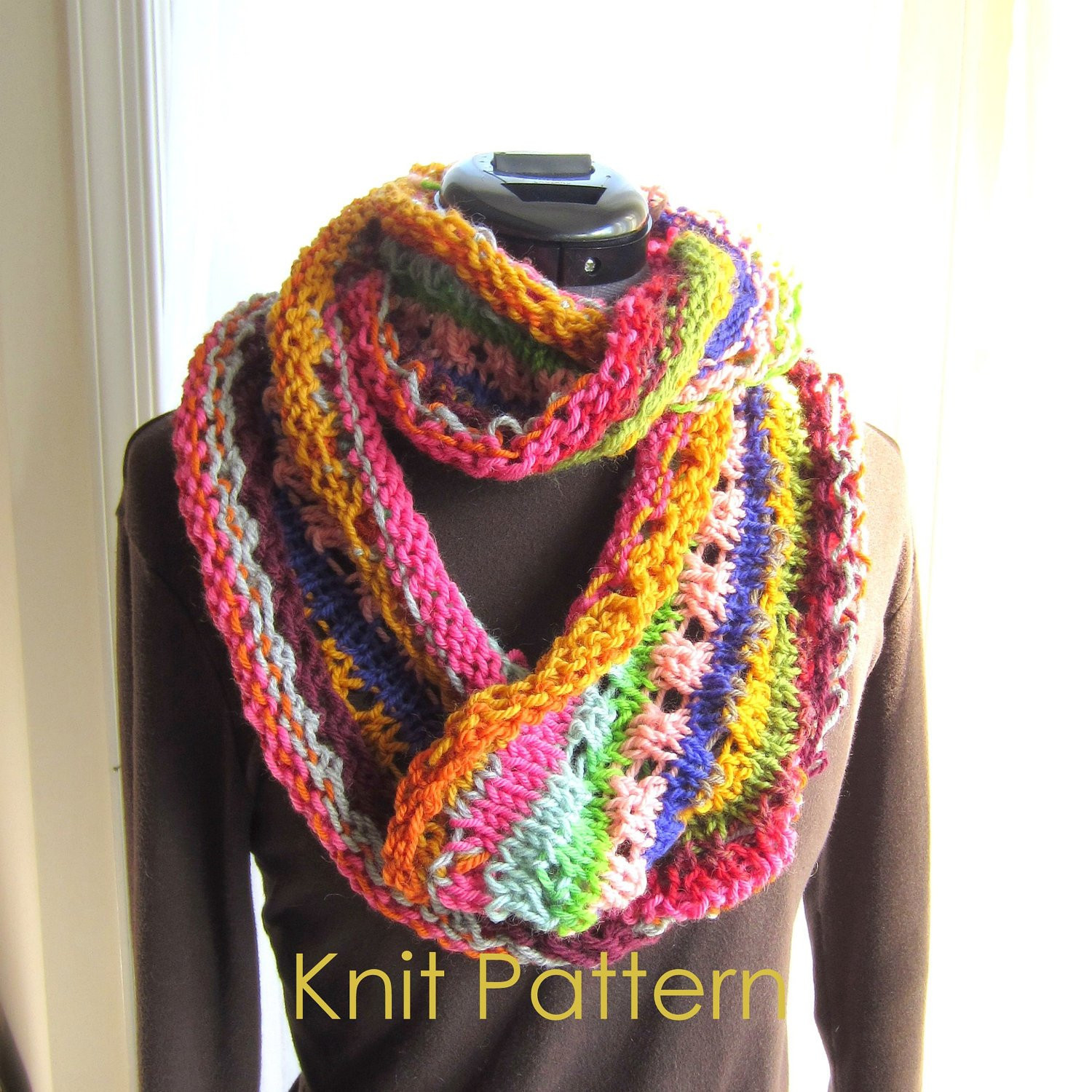 Knitting Patterns For Infinity Scarf Cool Berroco Linus