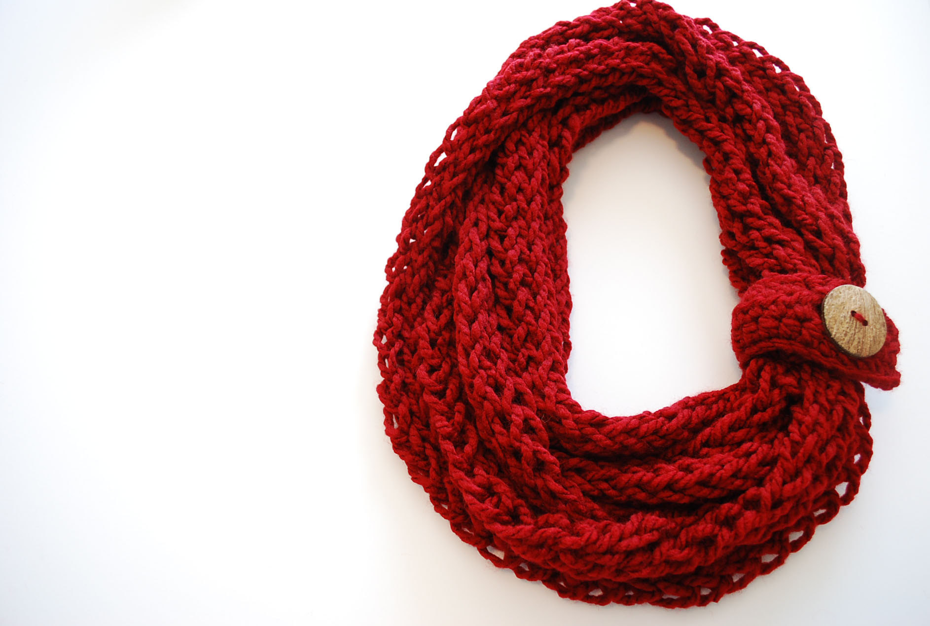 Infinity Scarf Pattern Elegant Finger Knit Infinity Scarf B Hooked Crochet Of Awesome 42 Ideas Infinity Scarf Pattern