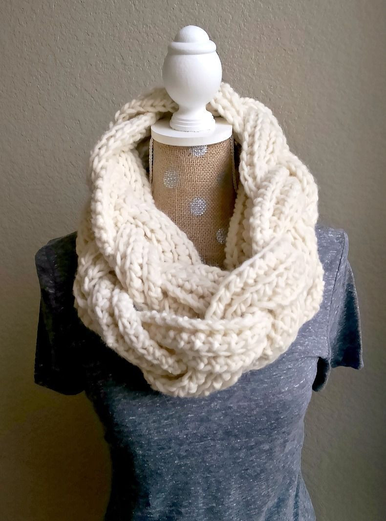 Infinity Scarf Pattern Inspirational Braided Infinity Scarf Free Crochet Pattern From the Of Awesome 42 Ideas Infinity Scarf Pattern