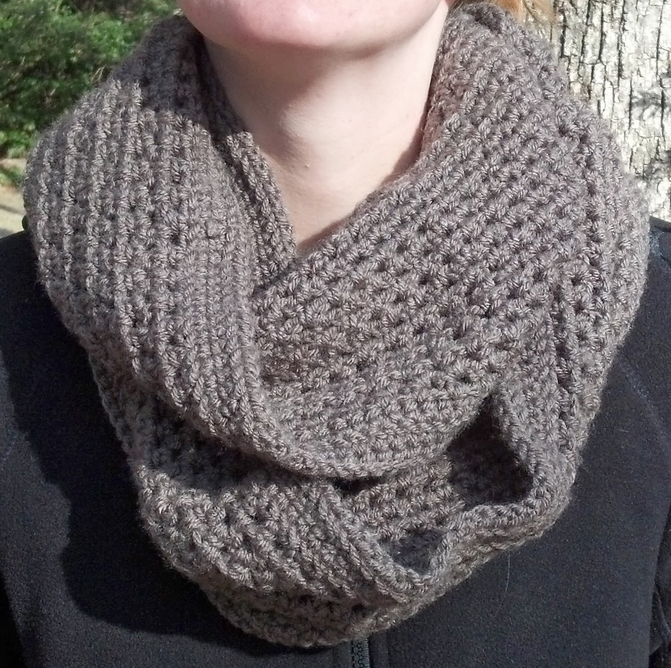 Infinity Scarf Pattern New This Cozy Infinity Scarf is Really Easy to Make and Has A Of Awesome 42 Ideas Infinity Scarf Pattern