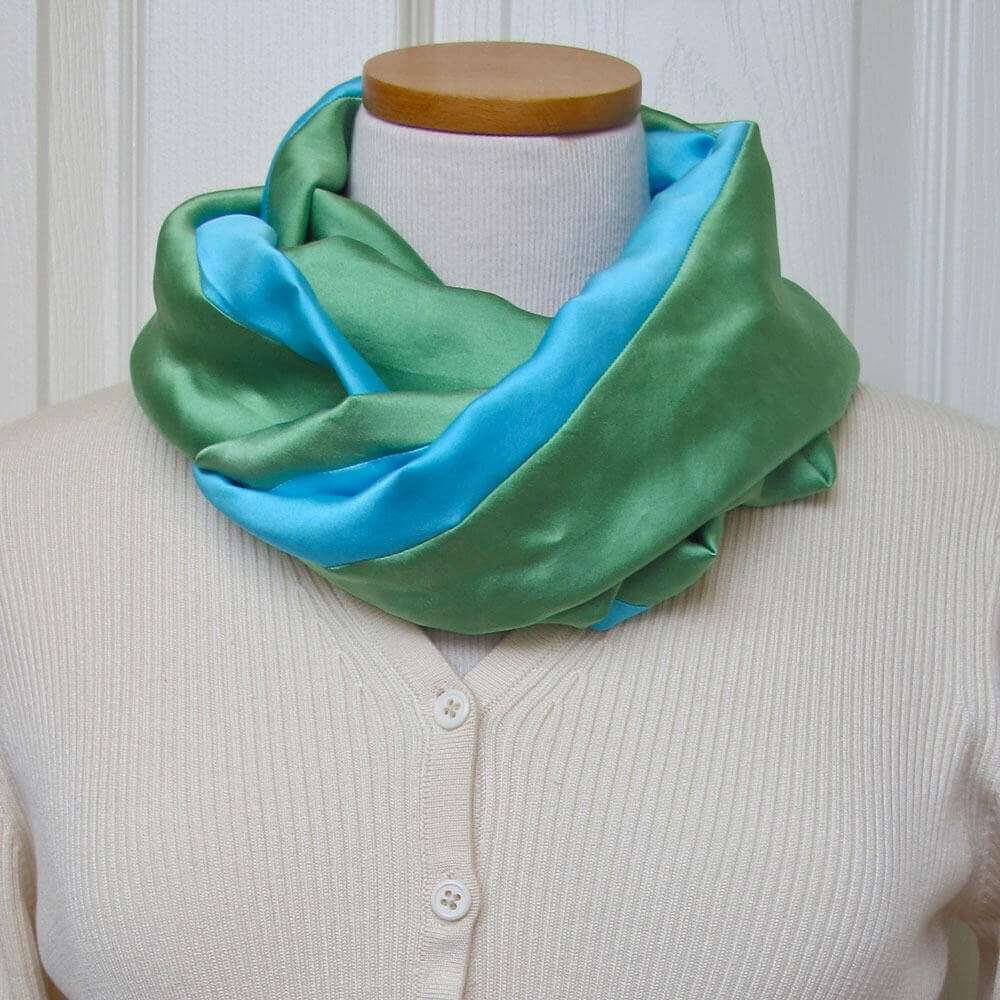 infinity scarf tutorial easy sew a scarf from fleece or any fabric pdf