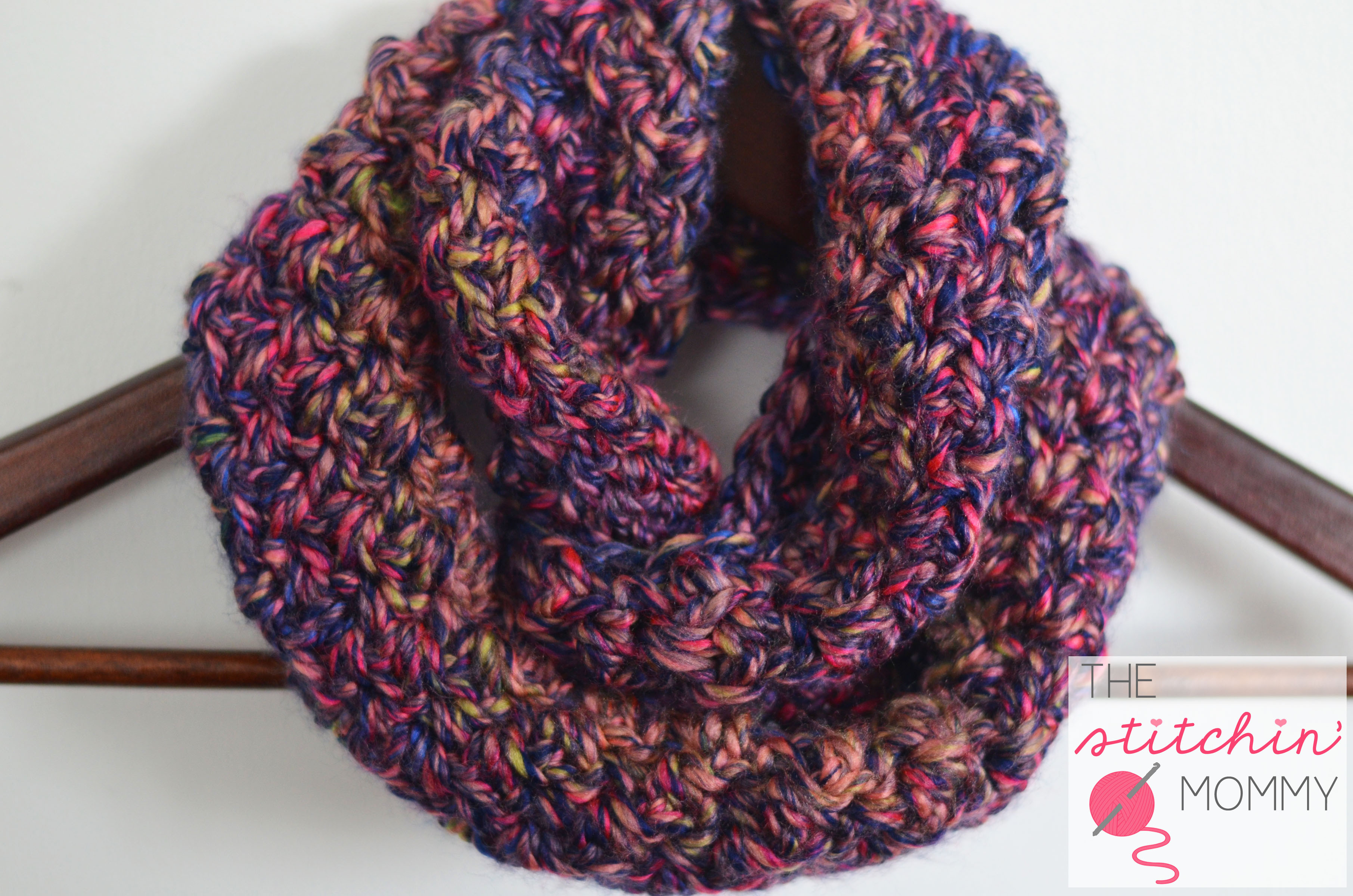 Infinity Scarf Pattern Unique Neon Lights Infinity Scarf for Girls the Stitchin Mommy Of Awesome 42 Ideas Infinity Scarf Pattern