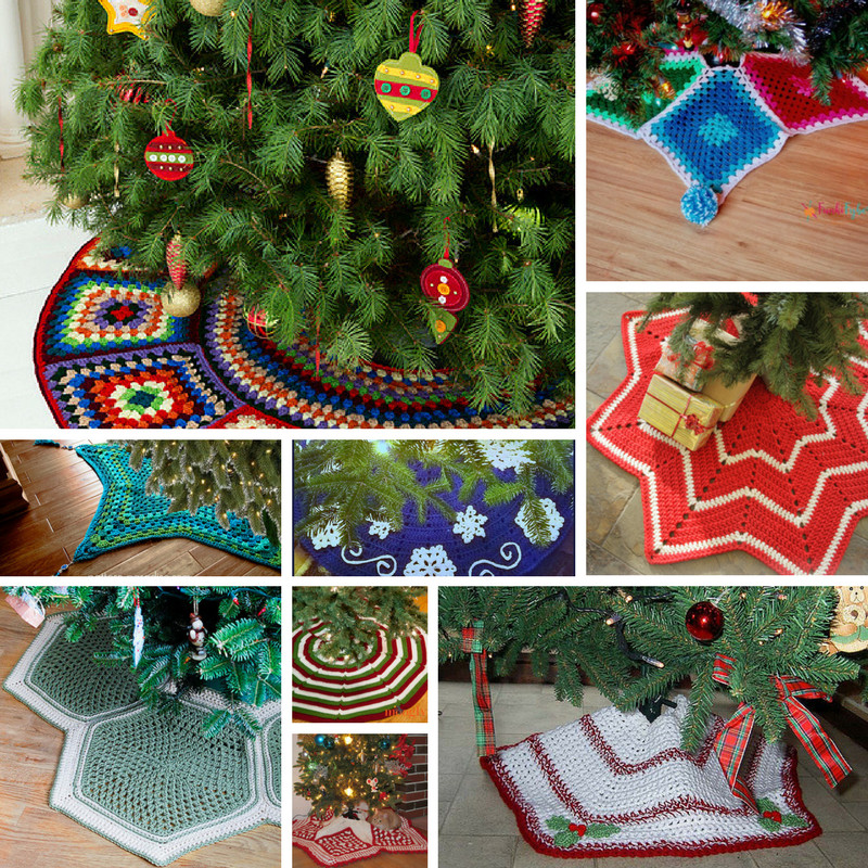 Inspirational 10 Crochet Christmas Tree Skirt Free Patterns Knit and Crochet Tree Skirt Of Innovative 45 Ideas Crochet Tree Skirt