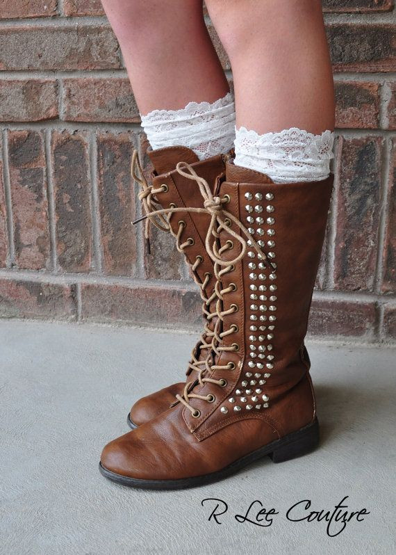 Inspirational 1000 Ideas About Lace Boot socks On Pinterest Lace Boot Cuffs Of Awesome 50 Pictures Lace Boot Cuffs