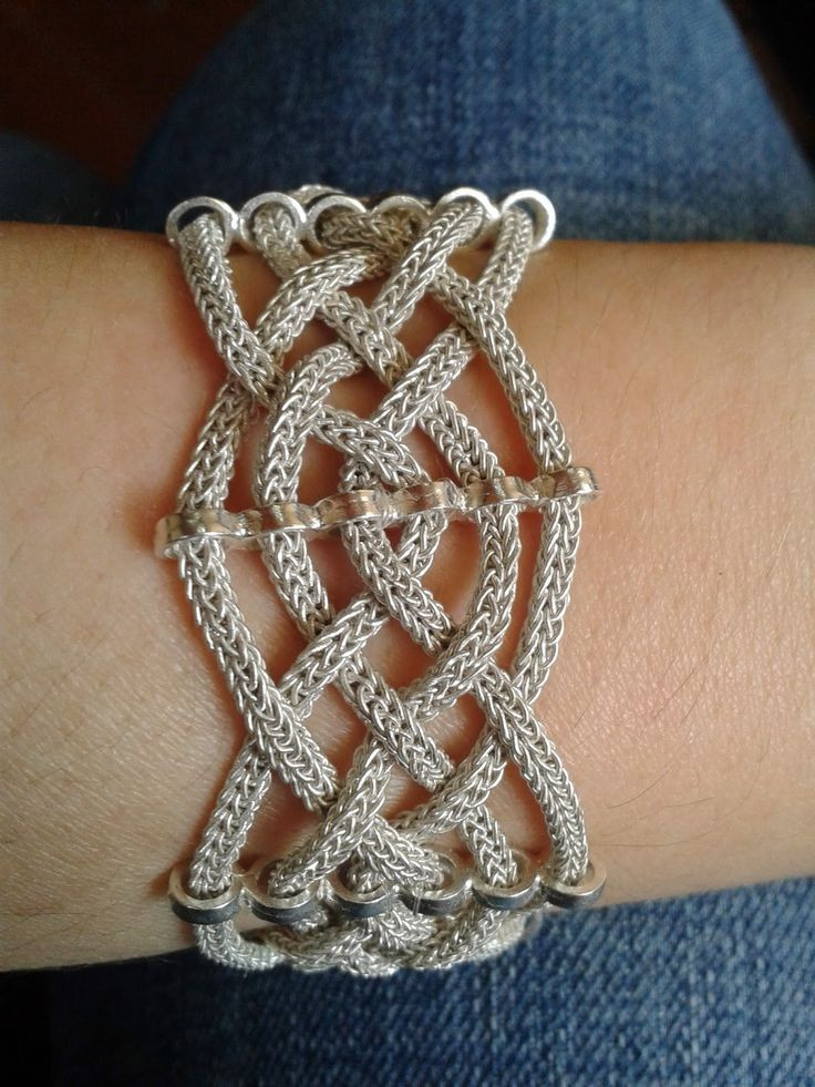Inspirational 1000 Ideas About Viking Knit On Pinterest Knitted Bracelet Of Brilliant 50 Models Knitted Bracelet
