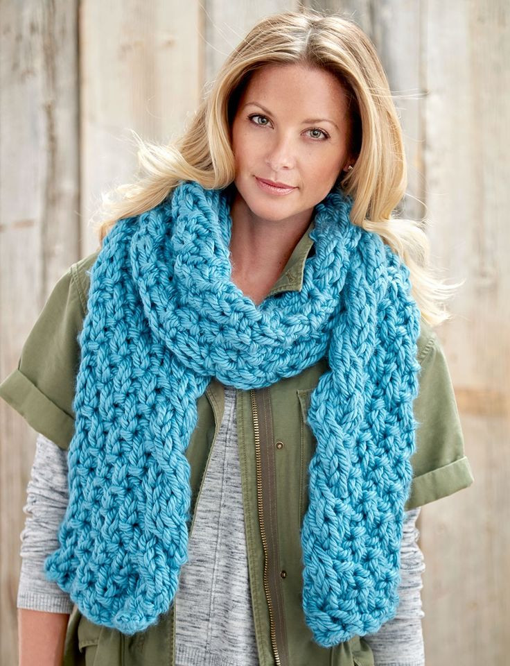 Inspirational 1000 Images About Bulky Yarn & Patterns On Pinterest Bulky Yarn Scarf Pattern Of Top 47 Ideas Bulky Yarn Scarf Pattern