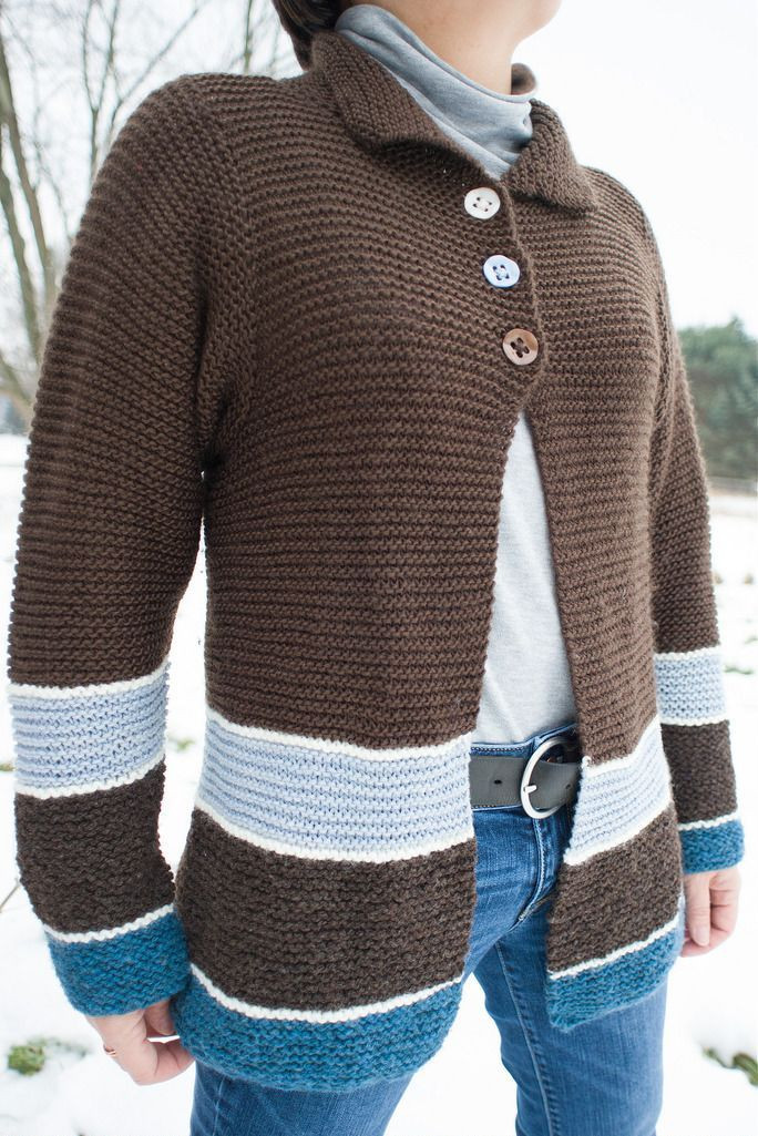 Inspirational 1000 Images About Cardigan Knitting Patterns On Pinterest Easy Knit Sweater Of Brilliant 50 Images Easy Knit Sweater