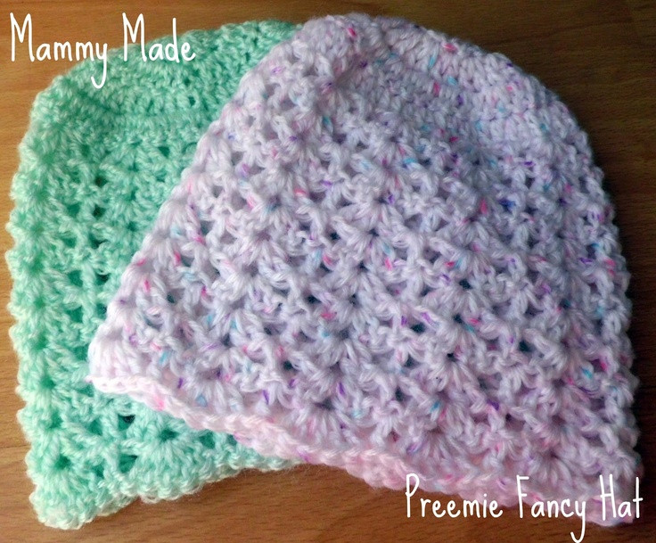 Inspirational 1000 Images About Crochet Baby Preemies On Pinterest Preemie Hat Pattern Of Incredible 41 Images Preemie Hat Pattern