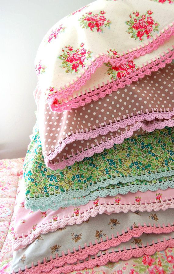 Inspirational 1000 Images About Crochet Edgings & for Pillowcases On Crochet Pillowcase Edging Of Attractive 45 Photos Crochet Pillowcase Edging