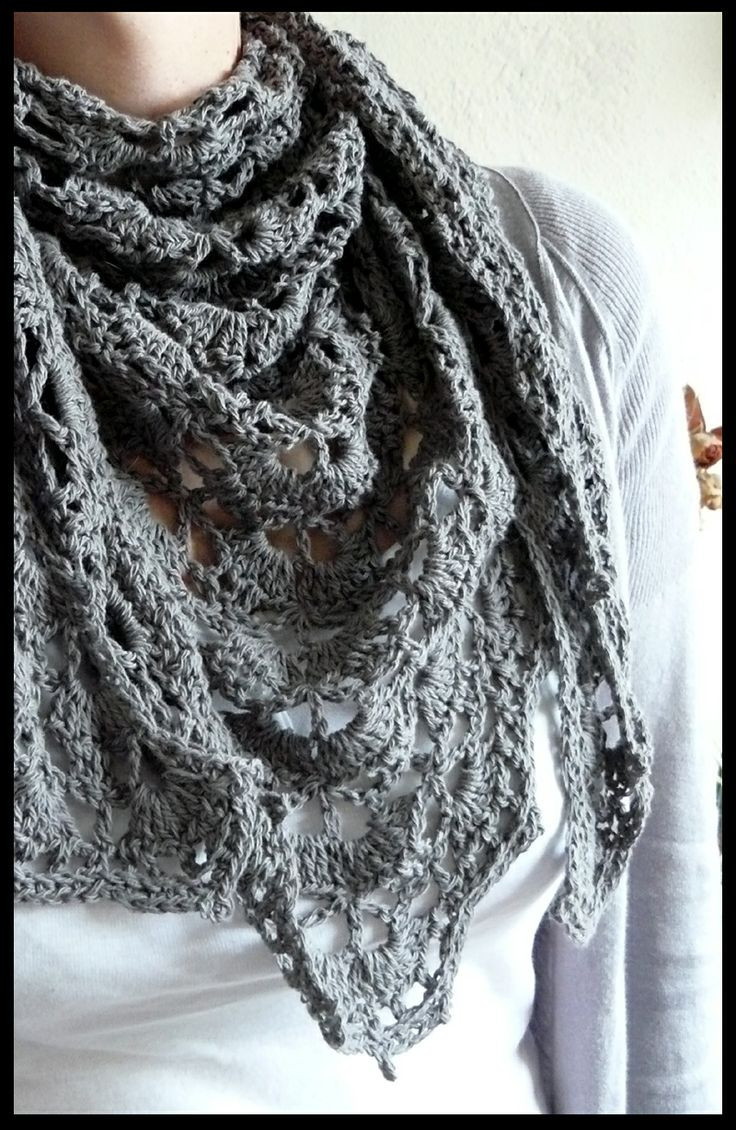 Inspirational 1000 Images About Crochet Scarves Shawls and Ponchos On Crochet Shawlette Of Top 46 Models Crochet Shawlette