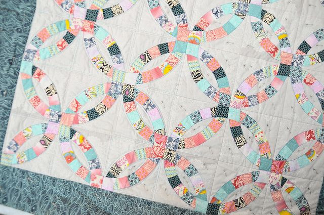 Inspirational 1000 Images About Double Wedding Ring Quilt On Pinterest Double Wedding Ring Of Perfect 40 Photos Double Wedding Ring