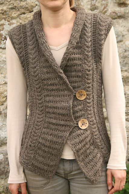 1000 images about Knitted vest on Pinterest