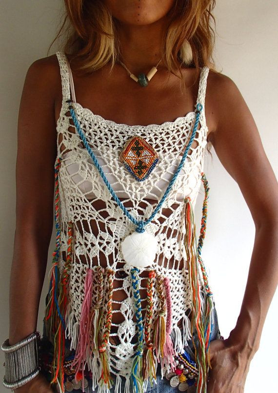 Inspirational 1062 Best Images About Crochet Scarf Shawl & Sweater On Boho Crochet top Of Charming 44 Pics Boho Crochet top