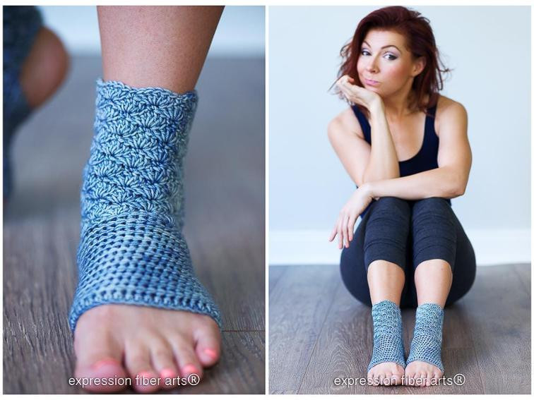 Inspirational 12 Crochet Patterns for Yoga Crochet Yoga socks Of Brilliant 48 Pictures Crochet Yoga socks
