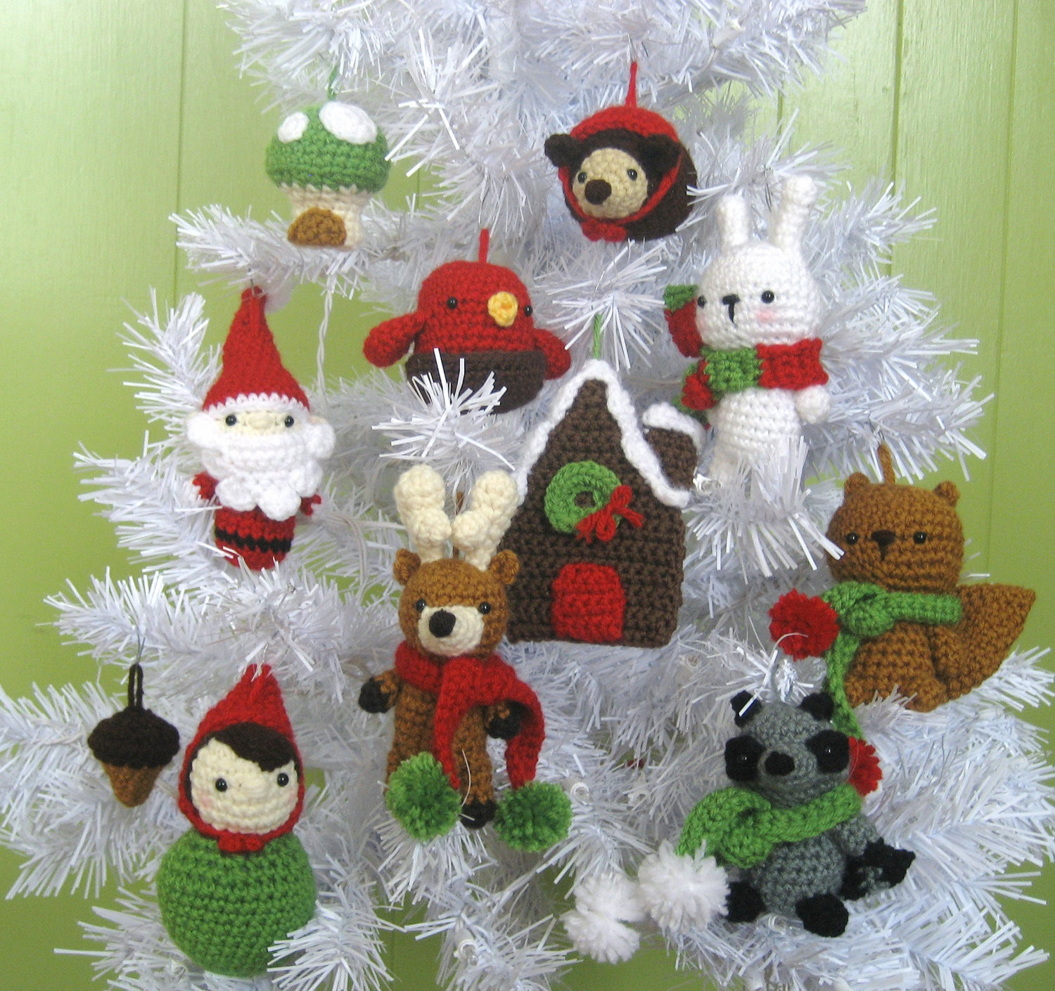 free crochet christmas tree ornaments patterns fxund usinspirational 14 best s of christmas ornament patterns free free crochet christmas decorations of perfect 50