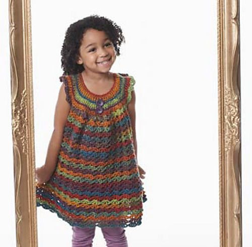 Inspirational 15 Beautiful Free Crochet Patterns for Girls' Dresses Crochet Girl Dress Of Awesome 46 Images Crochet Girl Dress