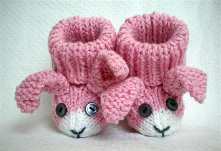 Inspirational 15 Easy to Make Crochet Baby Animals Slippers Baby Booties Knitting Pattern Of Awesome 47 Pics Baby Booties Knitting Pattern