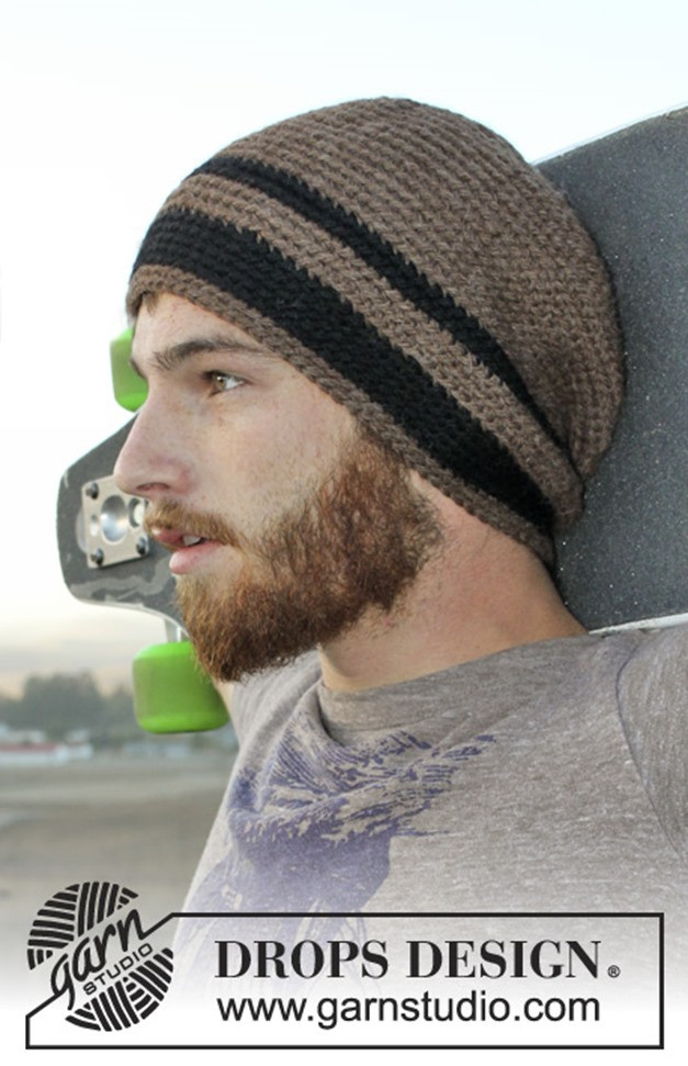 Inspirational 15 Incredibly Handsome Winter Hats for Men to Knit or Crochet Free Mens Crochet Hat Patterns Of Awesome 40 Ideas Free Mens Crochet Hat Patterns