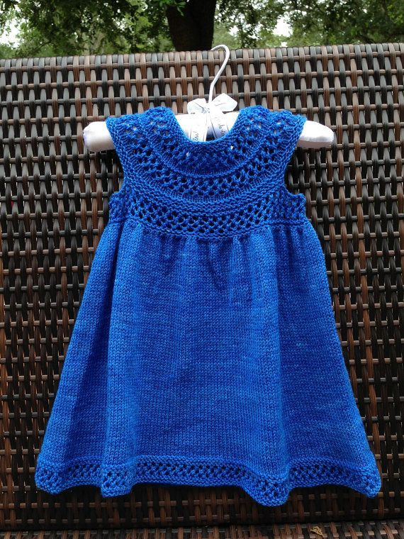 Inspirational 17 Best Ideas About Knit Baby Dress On Pinterest Knitted Baby Dress Of Brilliant 49 Photos Knitted Baby Dress