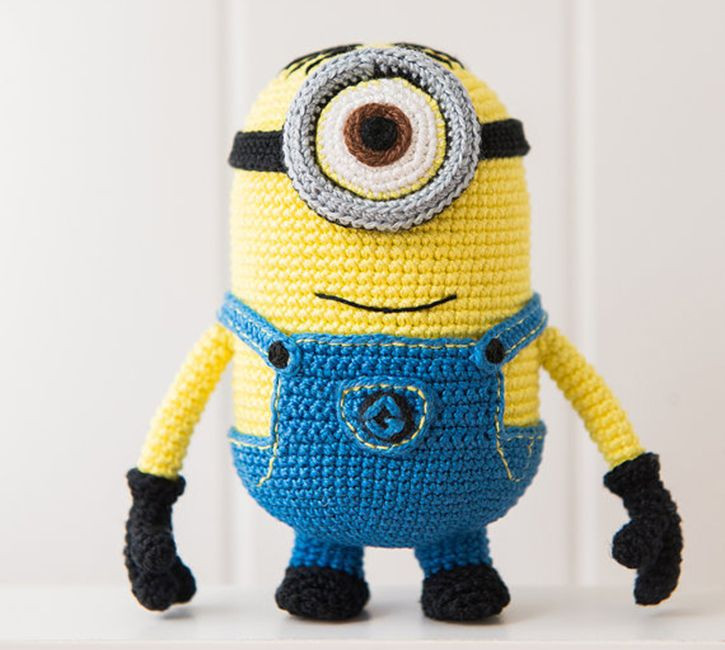 Inspirational 17 Best Images About Best Crochet Tutorials and Patterns Minion Pattern Of Gorgeous 50 Models Minion Pattern