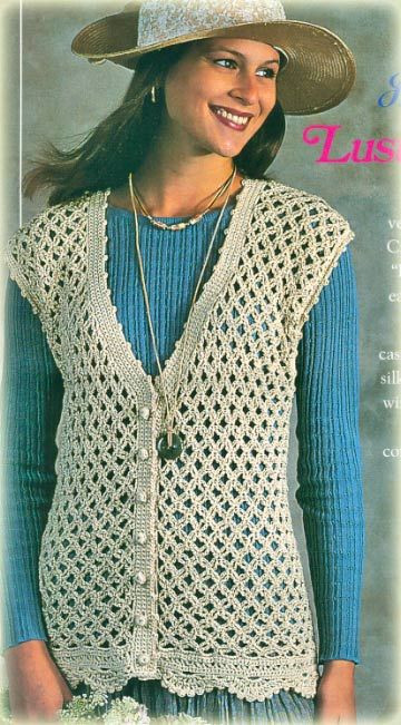 Inspirational 17 Best Images About Heklane Bluze On Pinterest Easy Crochet Vest Pattern Free Of New 41 Ideas Easy Crochet Vest Pattern Free