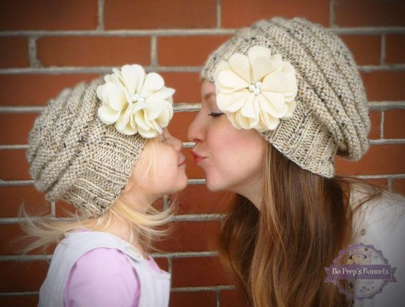 Inspirational 17 Best Images About Mommy and Me Hat Sets On Pinterest Girls Knit Hats Of Delightful 44 Pics Girls Knit Hats
