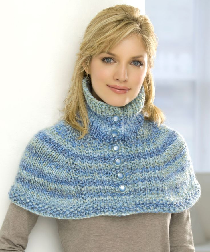Inspirational 174 Best Images About Ponchos Capas A Crochet Y O Tricot Knitted Neck Warmer Of Amazing 47 Ideas Knitted Neck Warmer